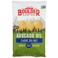 Boulder Avocado Oil Cayon Cut Potato Chips (Sea Salt) 149.1g