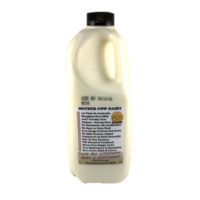 Mother Cow Dairy Full Cream Milk Unhomogenised 2L