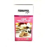 Fodmapped Cranberry Orange Vanilla Breakfast Biscuit 110g