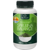 Lifestream Bioactive Spirulina Balance 200 vegecaps