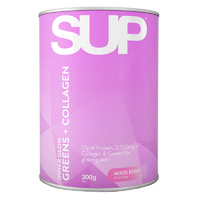 SUP Greens & Collagen (Mixed Berry) 300g
