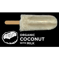Flyin Fox Organic Coconut & Milk Ice Blox 57ml