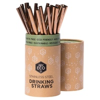 Ever Eco Rose Gold Single Straw