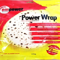Empower Low Carb Wrap (7 Wraps) 245g