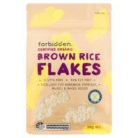 Forbidden Foods Organic Brown Rice Flakes 300g