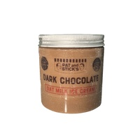 Pat & Sticks Oat Milk Dark Chocolate Ice Cream 520ml