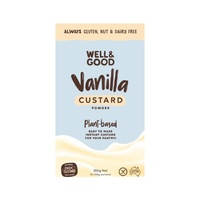 Well & Good Vegan Vanilla Custard Powder (2x125g) 250g