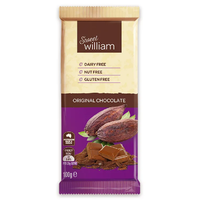 Sweet William Dairy Free Original Chocolate 100g