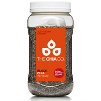 The Chia Co Black Chia Seeds 1kg