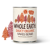Whole Earth Organic Baked Beans In Tomato Sauce 400g