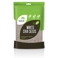Lotus Chia Seeds White Bag 125g
