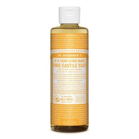 Dr Bronners Citrus Orange Castile Liquid Soap 237ml