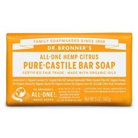 Dr Bronners Citrus Soap Bar 140g