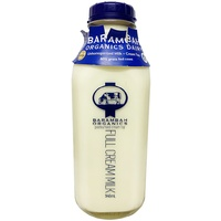 Barambah Full Cream Milk Glass Bottle 946ml