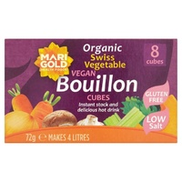 Marigold Organic Vegetable Bouillon Cubes (Purple) 72g