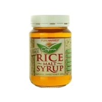 Pure Harvest Organic Rice Malt Syrup 500g