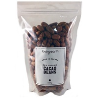 Loving Earth Raw Organic Cacao Beans 500g