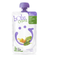 Organic Bubs Super Vegetable Rice Congee 120g