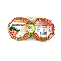 VBK Sweet Potato Burgers (4 Pack) 450g