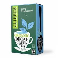 Clipper Fairtrade Decaf Green Tea 20 bags