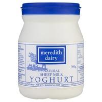 Meredith Dairy Natural Sheeps Milk Yoghurt 500g