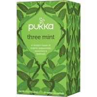 Pukka Three Mint Tea 20 bags