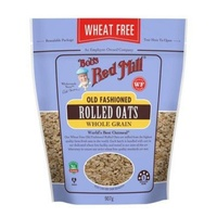 Bobs Red Mill Old Fashioned Wheat Free Rolled Oats 907g