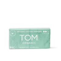 TOM Organic Tampons Regular (2x8 Pack)
