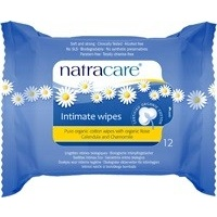 Natracare Intimate Wipes (12 Pack)