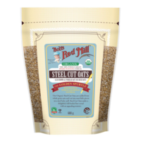 Bobs Red Mill Organic Wholegrain Steel Cut Oats 680g