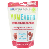 YumEarth Organic Candy Drops Pomegranate Pucker 93.5g