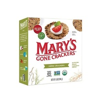Marys Gone Organic Herb Crackers 184g