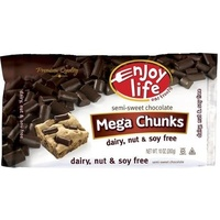 Enjoy Life Semi-Sweet Chocolate Mega Chunks 283g