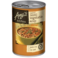 Amys Lentil Vegetable Soup 411g