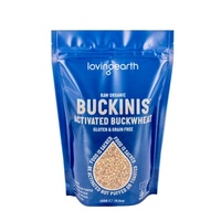 Loving Earth Organic Activated Plain Buckinis 950g