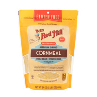Bobs Red Mill Stone Ground Whole Grain Cornmeal 680g