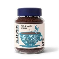 Clipper Super Special Medium Roast Organic Arabica Coffee 100g