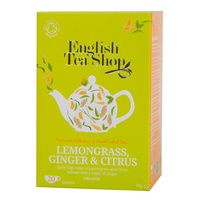 English Tea Shop Lemongrass Ginger & Citrus (20 Tea Bags)