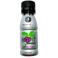 James White Beet It Sport Stamina Shot (Grey) 70ml