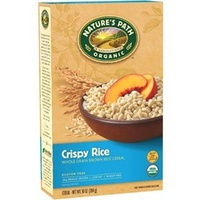 Natures Path Gluten Free Crispy Rice Brown Rice Cereal 284g