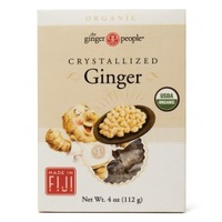 The Ginger People Organic Crystallised Ginger 112g
