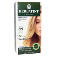 Herbatint Permanent Herbal Haircolour Gel Light Blonde 8N