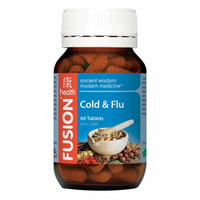 Fusion Health Cold & Flu - 60 tablets