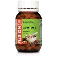 Fusion Health Liver Tonic 60 tabs