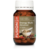 Fusion Health Energy Multi Advanced - 60 tabs