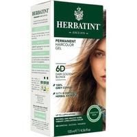 Herbatint Permanent Herbal Haircolour Gel Dark Golden Blonde 6D