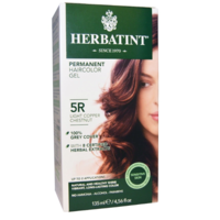 Herbatint Permanent Herbal Haircolour Gel Light Copper Chestnut 5R