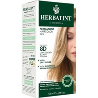 Herbatint Permanent Herbal Haircolour Gel Light Golden Blonde 8D 150ml