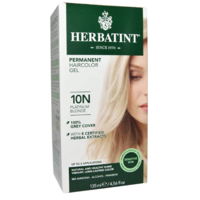Herbatint Permanent Herbal Haircolour Gel Platinum Blonde 10N 150ml