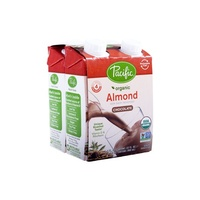 Pacific Natural Foods Almond Milk Choc 4x240ml